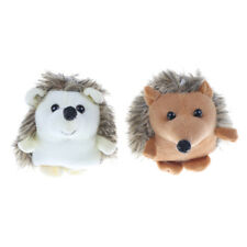 10CM Kawaii Hedgehog Animal Plush Stuffed Toy Dolls Key Chain pendant Gift 9H