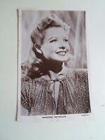 Vintage RP Postcard MARJORIE REYNOLDS America Film+TV Actress 1917-1997