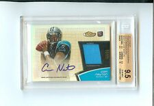 Cam Newton 2011 Topps Finest GOLD RC Auto/Jersey #19/25 ~BGS 9.5/10~ FREE SHIP