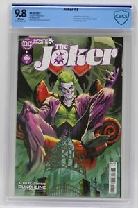 Joker (2021) #1 Guillem March Cover A CBCS 9.8 Blue Label White Pgs 1st Cressida