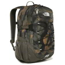 The North Face Borealis Classic Green Camo Backpack Travel School Bag 29L Laptop