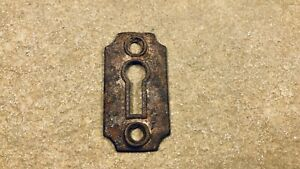 Antique Rim Lock Mortise Lock Key Hole Cover Plate Lock Skeleton Key Escutcheon