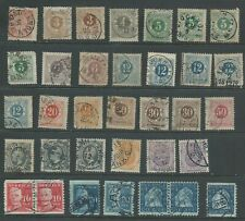 Sweden 1862-1920 from an old collection good used (2008).