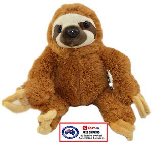 1 X PLUSH SLOTH 18CM teddy gift soft toy cute stuffed animal monkey christmas