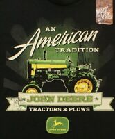 John Deere tractors & plows An American Tradition t-shirt, Size Medium, NEW