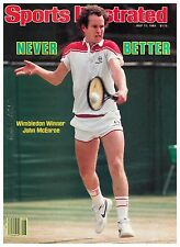 July 11, 1983 John McEnroe Tennis Sports Illustrated