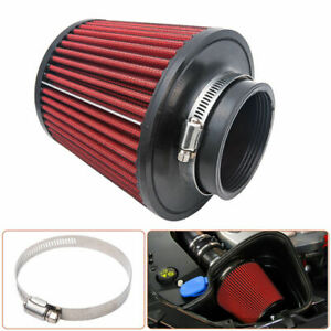 k&n style pod filter 4 inch 100mm neck with clamp high performance(non genuine)