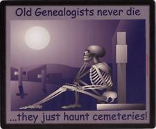 Family History Mousemat - Haunt Cemeteries