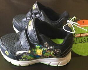 Nicklodeon Teenage Mutant Ninja Turtles Tennis Shoes Toddlers Boys Size 5 NWT