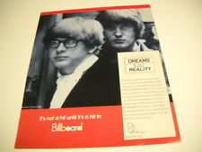 Peter And Gordon 1992 Promo Poster Ad Dremas Into Reality concerning 1964 hit