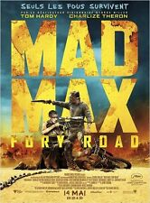 Affiche 40X60cm MAD MAX: FURY ROAD 2015 George Miller, Tom Hardy Charlize Theron