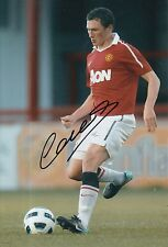 MANCHESTER UNITED HAND SIGNED CORY EVANS 12X8 PHOTO 3.
