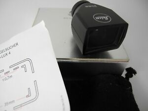 LEICA D LUX 24MM /35MM VIEWFINDER BOXED W/INSTRUCTIONS SOFT CASE UNUSED PERFECT