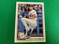 ⭐️👀 2020 Bowman #38 Dustin May RC Rookie Los Angeles Dodgers