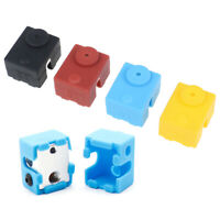 1Pc Protective Silicone Sock Cover Case For 3D Printer Parts V6 Heater Block cv