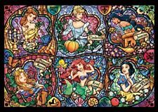Tenyo Disney Brilliant Princess Stained Glass Art Jigsaw Puzzle 1000 pieces F/S