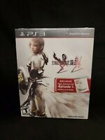 Final Fantasy XIII-2 & Episode i Novella In-Pack Playstation 3 PS3 NEW SEALED!