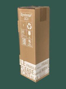 1er PTZ WEINVERSANDKARTON für 1 Flasche Wein Karton Flaschen Versandkarton NEU