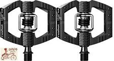 """CRANK BROTHERS MALLET ENDURO BLACK CLIPLESS 9/16"""" 3-PIECE CRANK BICYCLE PEDALS"""