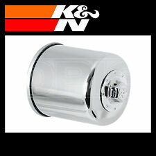 K&N Oil Filter Powersports Chrome Finish Motorcycle Oil Filter - KN-303C