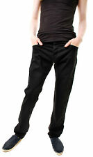 Lois Men's Authentic New Denim Bolt Exter Jeans Black Size W29 L34 RRP £72 BCF66