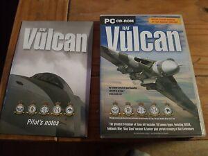 RAF VULCAN Pc Cd Rom Add-On Flight Simulator 2002 2004 or X FS2002 FS2004 FSX