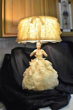 Vintage Boudoir Doll Lamp