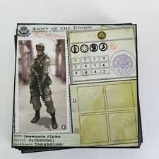 10 Replacement Tannhauser Character Cards 2011  Edition  + 2 Dice