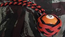"Boule Billard N°5 ø52 mm Lanyard ""Self Defense/Survie"""