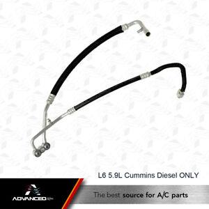 AC A/C Manifold Line Fits: 2003 - 2005 Dodge Ram 2500 3500 L6 5.9L Turbo Diesel