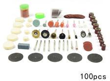 100PC Mini Drill Bit Fits Dremel Accessories Grinding Polish Power Tools Accesso