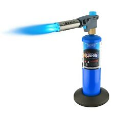BLUEFIRE Triple Flame Turbo Torch Head /w Base,Welding Cooking, MAPP MAP Propane