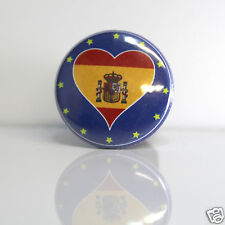 2 Badges Europe [25mm] PIN BACK BUTTON EPINGLE Espagne