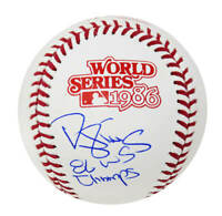 Darryl Strawberry (NY Mets) Signed 1986 World Series Baseball w/86 WS Champs -SS