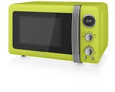 Swan SM22030LN Rétro 800W Digitale Autonomo Microonde - Verde Lime