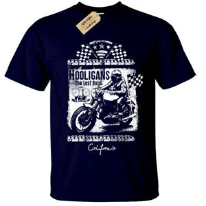 Lost Boys T-Shirt Uomo Motociclista Moto Rider Moto Top