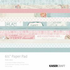 """Kaisercraft Peek-a-Boo 6.5"""" Paper Pad 40pg"""