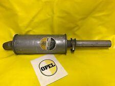 NUEVO + original OPEL KADETT C 1,9 E Silenciador CIH RALLYE GT/E ESCAPE