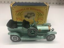 Matchbox Y-15 Rolls Royce Silver Ghost (Red Taillight)