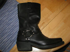 Women's Harley-Davidson HUSTIN Harness Boots sz 9 stk# 85354 Black