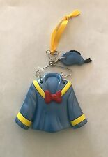 Disney Parks Christmas Holiday Donald Duck Costume Dress on Hanger Ornament