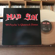 MAD SIN '99 PSYCHO PSYCHOBILLY Clear Vinyl LP