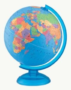 Replogle Adventurer Desktop Globe, Blue