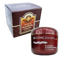Korean Cosmetics 3W Clinic Placenta Sleeping Pack 100ml