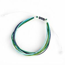 Women Boho Waterproof Rope Mixed Color Woven Bracelet Friendship Summer Holiday