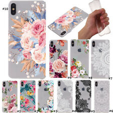 For Apple iPhone 11 Max XS XR X 8 7 Plus Slim Soft Rubber Clear Back Case Cover