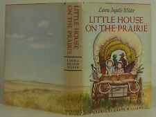 LAURA INGALLS WILDER Little House on the Prairie FIRST ED THUS with new illustra