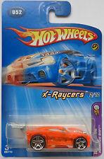 2005 Hot Wheels First Edition X-Racers Paradigm Shift 2/10 (Orange Version)