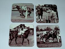 Seabiscuit Horse Racing Legend COASTER Set