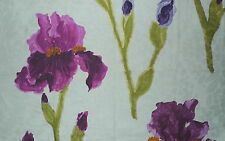 DESIGNERS GUILD Tatiana Sarafan Floral Pink Linen Cotton New Remnant Italy